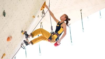 Украинка Ника Потапова стала чемпионкой Европы по скалолазанию!