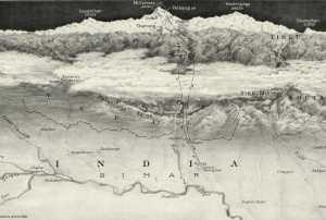 Фото дня: первая детальная карта Эвереста
