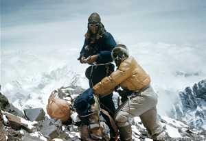 Ровно 65 лет тому назад было совершено первое восхождение на вершину Эвереста