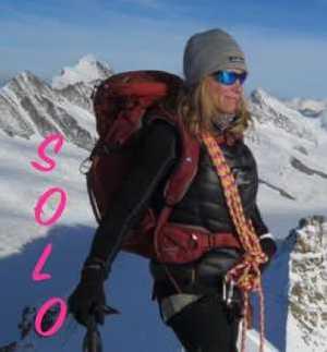 Впервые на высочайшую гору Канады в соловосхождении поднялась женщина