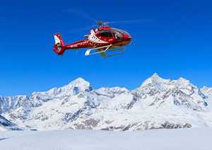 50 лет спасслужбе Air Zermatt