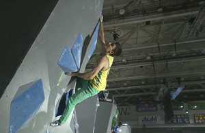 Сергей Топишко вышел в полуфинал этапа Кубка Мира по скалолазанию в Японии
