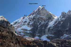 Новый чешский маршрут на непальской горе Киязо Ри