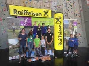 Юные харьковчане заняли три первых места на престижных детских скалолазных соревнованиях Youth Color Climbing Festival в Австрии