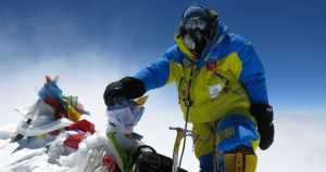 Флаг Украины и флаг США размером больше футбольного поля планируют развернуть на Эвересте харьковские альпинисты