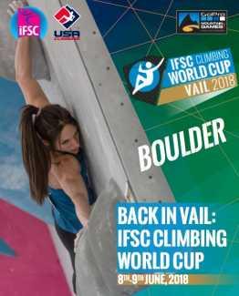 Этап Кубка мира по скалолазанию в США. От Украины выступит Сергей Топишко