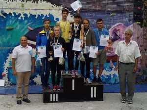В Кропивницком прошел чемпионат Украины по скалолазанию среди учащихся внешкольных учебных заведений