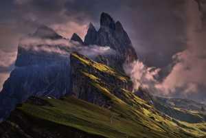 Фото дня: рассвет в итальянских Доломитовых Альпах