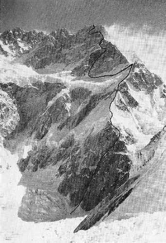Словенский маршрут 1991 года на вершину Канченжанга (Kangchenjunga (8476 m) по южному ребру