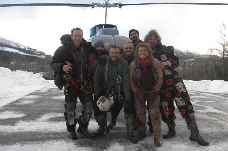 начало экспедиции 2018 года. Фото  The Calgary Herald