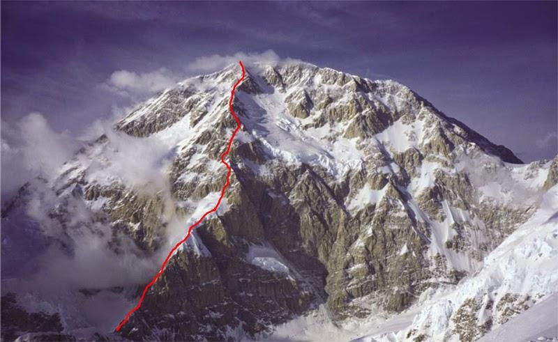 Маршрут Кассина (Cassin route / Cassin Ridge) на Денали