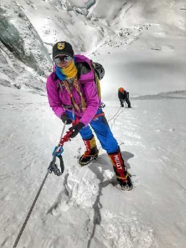 Ирина Галай: «Физически я в горах окрепла, а не ослабла». Фото Ирина Галай