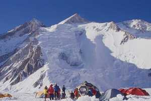 Украинские альпинисты завершают экспедицию на восьмитысячник Гашербрум II в Пакистане