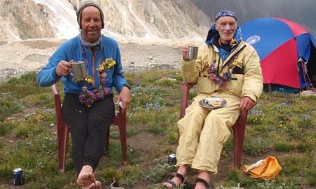 Сэнди Аллен и Рик Аллен (Sandy Allan и Rick Allen) в 2012 году