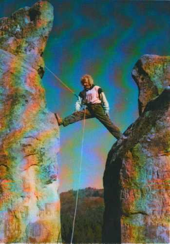 70-е годы прошлого века. Игорь Шарабура в своей стихии. Фото из архива Сергея Германа