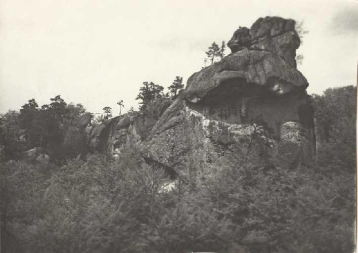 Верхняя часть Ведьмы с карнизом. Фото из архива Сергея Германа