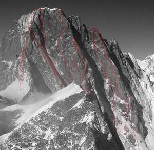Харьковские альпинисты прошли один из сложнейших маршрутов Альп -