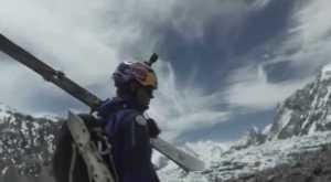 Первое видео о историческом горнолыжном спуске Анджея Баргеля с восьмитысячника К2