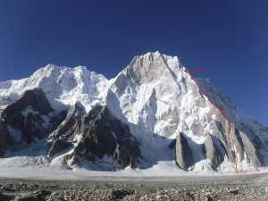 Трагедия на горе Латок I в Пакистане: один российский альпинист погиб, второй находится на горе в опасной ситуации