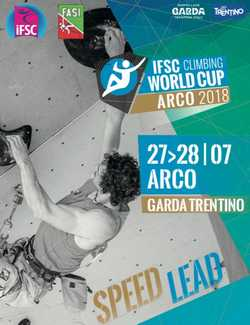 Евгения Казбекова вышла в финал этапа Кубка Мира по скалолазанию в итальянском Арко
