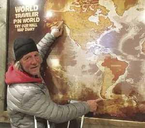 Американский турист Холли Харрисон впервые в мире смог пройти пешком маршрут через две Америки: 22530 километров за 530 дней!