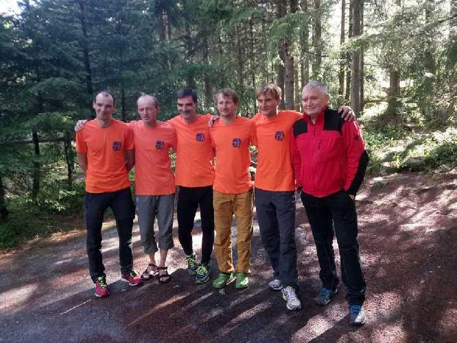 команда Харьковского альпклуба