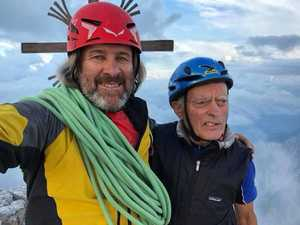 В 80 лет на вершине горы: немецкий альпинист отпраздновал юбилей, повторив своё восхождение 55-летней давности