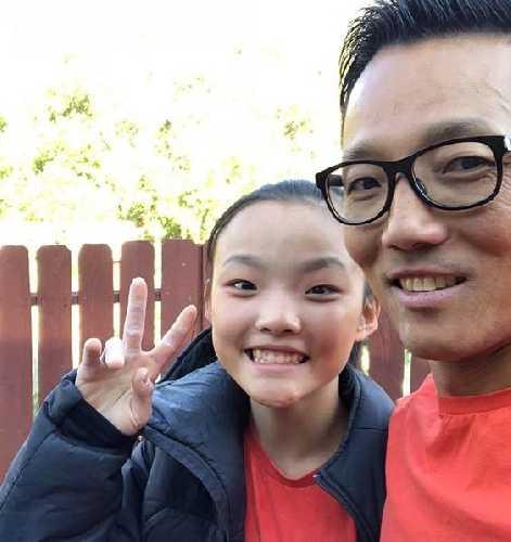 Сео Чахуон (Chaehyeon Seo) со своим отцом