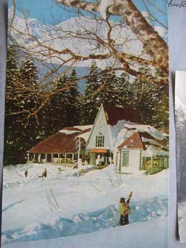 Столовая «Алибека» (в 1963г. сгорела). Фото из архива Вадима Бялого