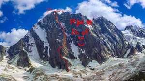 Новый скоростной на вершину Гран Жорасс: Дани Арнольд проходит маршрут