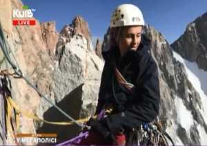 Киевские альпинисты в проекте телеканала Киев