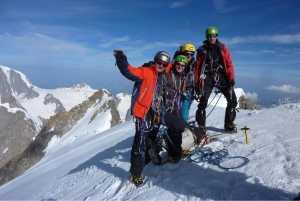Харьковские альпинисты на Гранд Жорассе: подробности восхождения