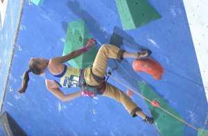 Ника Потапова вышла в финал молодежного Чемпионата Мира по скалолазанию в Москве