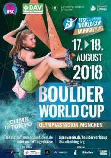 Сегодня в Мюнхене стартует финальный этап Кубка Мира 2018 года по боулдерингу