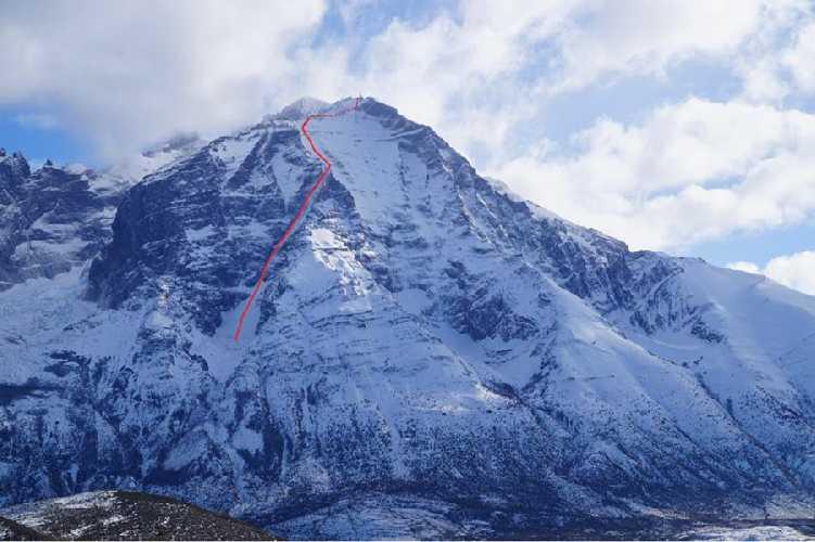 Маршрут Línea de Libertad на вершину Альмиранте Ньето (Cerro Almirante Nieto высотой 2670 метров)
