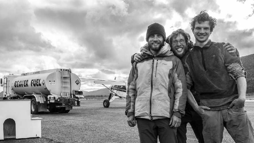 Крис Уильямс (Chris Williams), Ланг Ван Доммелен (Lang Van Dommelen), Гус Барбер (Gus Barber). Фото Lang Van Dommelen