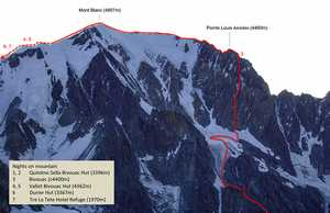 На Монблане открыли новый альпинистский маршрут