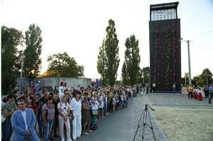 В Харьковской области открылся новый скалодром