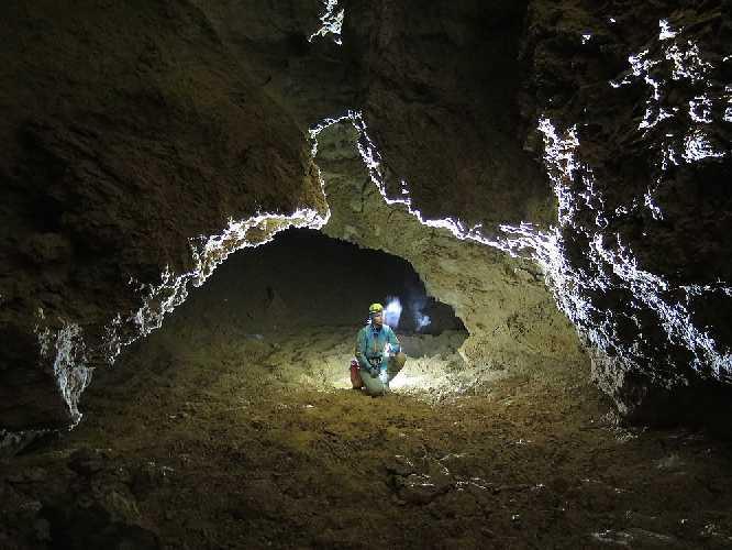 Пещера Лампрехтсофен (Lamprechtsofen cave). Главная галерея. Фото Michał Ciszewski