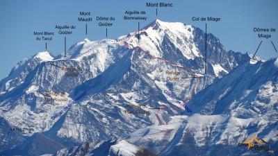 С 2019 года на Монблане будут введены квоты для альпинистов: не более 200 человек в день!