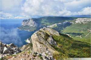 В оккупированном Крыму вооруженные люди не пускают в горы туристов и скалолазов