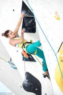 Евгения Казбекова вышла в полуфинал Чемпионата Мира по скалолазанию!