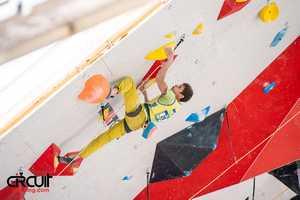 Федор Самойлов вышел в полуфинал Чемпионата Мира по скалолазанию!