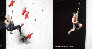 Реза Алипуршена и Александра Руджинска выиграли Чемпионат Мира по скалолазанию в дисциплине скорость