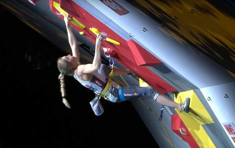 Джессика Пильц (Pilz Jessica) - на Чемпионате Мира по скалолазанию 2018 в Инсбруке
