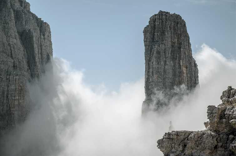 Кампаниле Бассо в Брентинских Доломитах. Фото alpclub . de