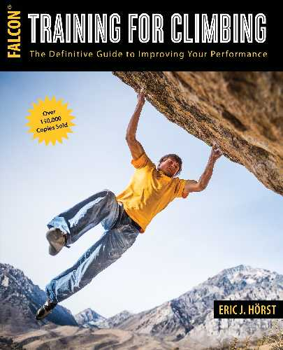 Eric J. Hörst, Training for Climbing: The Definitive Guide to Improving Your Performance (How To Climb Series), 3rd ed. Guilford: Falcon Guides,  2016, 352 pp.
