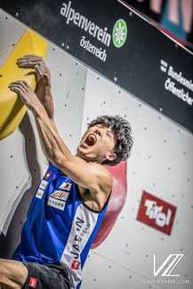 Кай Харада выиграл Чемпионат Мира по скалолазанию в дисциплине боулдеринг