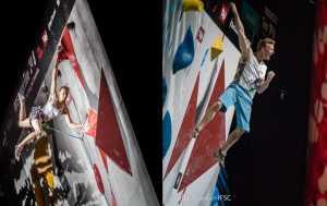 Якоб Шуберт и Янья Гарнбрет стали победителями Чемпионата Мира 2018 года по скалолазанию в комбинированном зачете