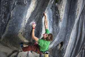 Себастьян Буин совершает первопрохождение маршрута